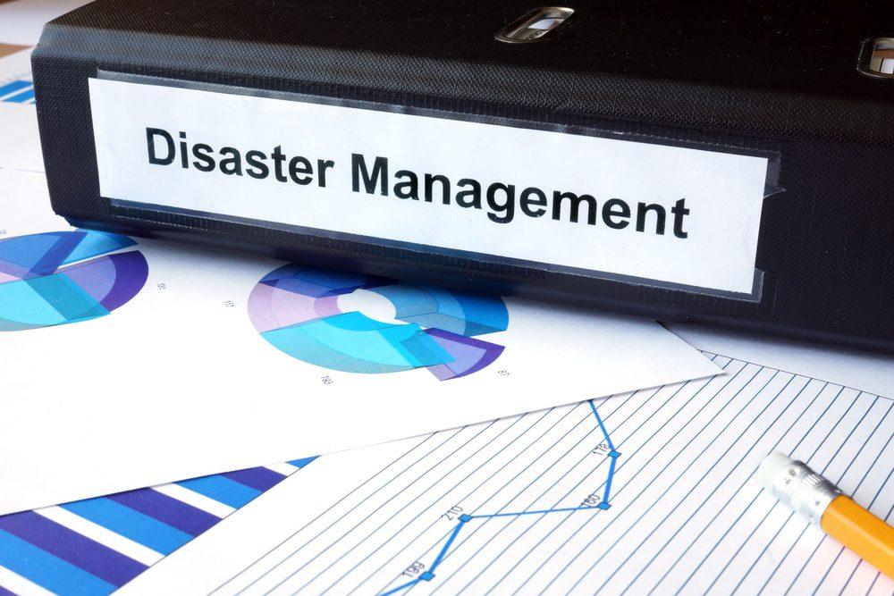 binder with disaster management procedures